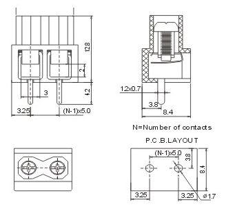 消防接線端子箱尺寸
